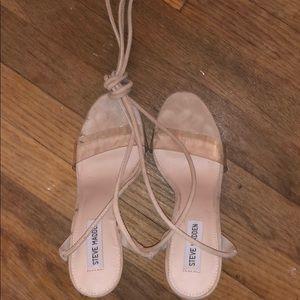 Steve Madden lace up heels